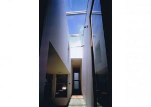 縦格子の家 08